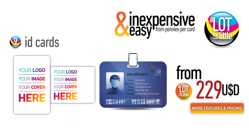 ID cards - from U$S229